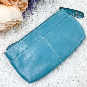 ROSETTI Coin Card Faux Leather Blue wallet